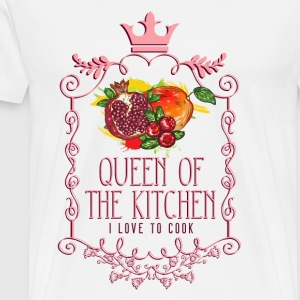 queen_of_the_kitchen_02201623 Schürzen - Männer Premium T-Shirt