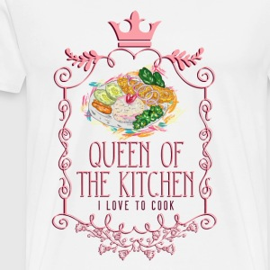 queen_of_the_kitchen_02201624 Schürzen - Männer Premium T-Shirt
