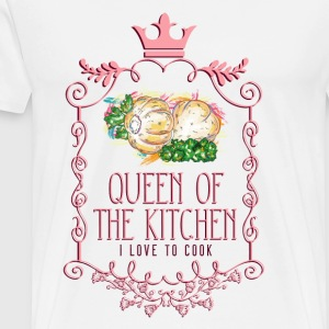 queen_of_the_kitchen_02201625 Schürzen - Männer Premium T-Shirt