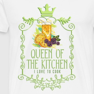 queen_of_the_kitchen_02201609 Schürzen - Männer Premium T-Shirt