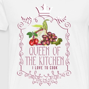 queen_of_the_kitchen_02201610 Schürzen - Männer Premium T-Shirt