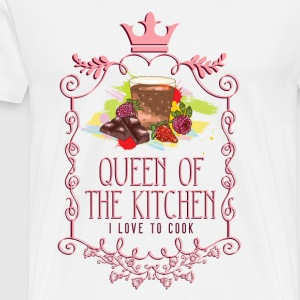 queen_of_the_kitchen_02201622 Schürzen - Männer Premium T-Shirt