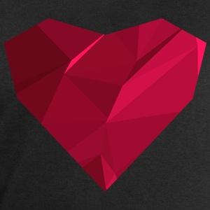 Polygon Heart T-Shirts - Men's Sweatshirt by Stanley & Stella