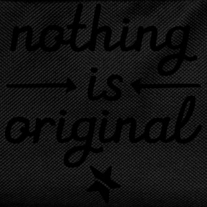 Nothing Is Original Camisetas - Mochila infantil