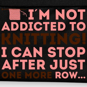 I'm not addicted to knitting! I can stop T-shirts - Ryggsäck för barn