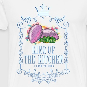 king_of_the_kitchen_02201617 Schürzen - Männer Premium T-Shirt