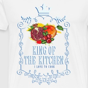 king_of_the_kitchen_02201614 Schürzen - Männer Premium T-Shirt