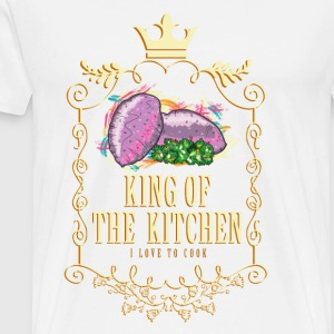 king_of_the_kitchen_02201626 Schürzen - Männer Premium T-Shirt