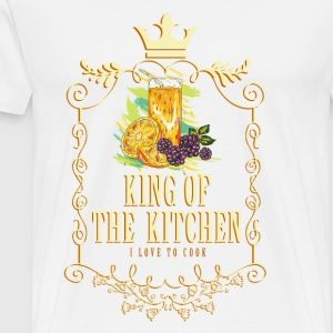 king_of_the_kitchen_02201627 Schürzen - Männer Premium T-Shirt