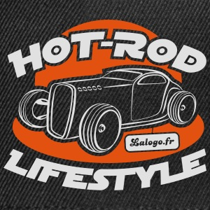 Hot-Rod Lifestyle Modern - Casquette snapback