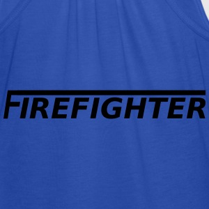Firefighter T-Shirts - Women's Tank Top by Bella