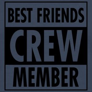 Best Friends Crew Member Tee shirts - T-shirt manches longues Premium Homme