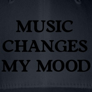 Music changes my mood Hoodies & Sweatshirts - Flexfit Baseball Cap