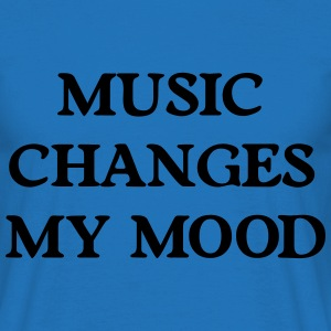 Music changes my mood Sudaderas - Camiseta hombre