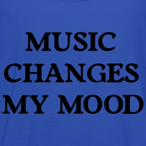 Music changes my mood Hoodies & Sweatshirts - Women's Tank Top by Bella