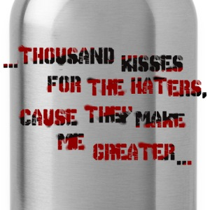 haters - Water Bottle