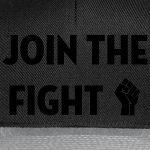 Join the fight / People / Peace / Revolution  Aprons - Snapback Cap