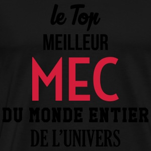 Mec Homme Mari Couple Saint Valentin Amour Love Tabliers - T-shirt Premium Homme