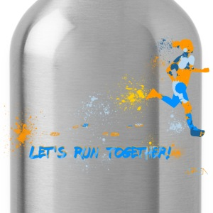Let's run together! Camisetas - Cantimplora