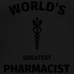 World's Greatest Pharmacist Mokken & toebehoor - Mannen Premium T-shirt