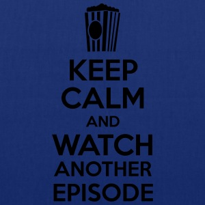 Keep calm and watch another episode Tee shirts - Tote Bag