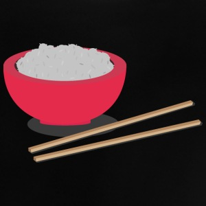 Asian rice with chopsticks Shirts - Baby T-Shirt