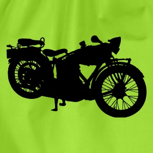 old motorcycle T-Shirts - Drawstring Bag