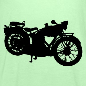 old motorcycle T-Shirts - Women's Tank Top by Bella