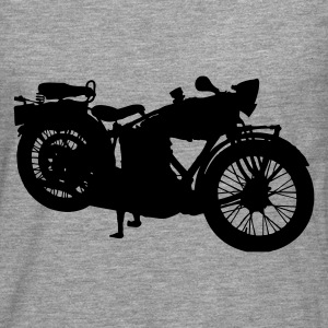 old motorcycle T-Shirts - Men's Premium Longsleeve Shirt