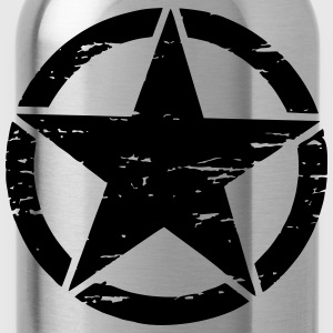 Army Star used - Trinkflasche