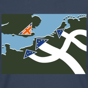 Dad's Army Brexit [wide] - Men's Premium Longsleeve Shirt
