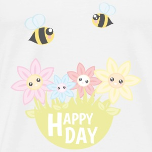 Happy Day - Männer Premium T-Shirt