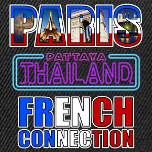 paris tahiland pattaya french connection Tee shirts - Casquette snapback