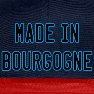 made in bourgogne Tee shirts - Casquette snapback