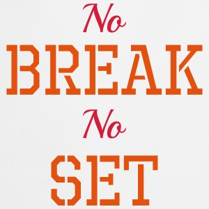 No break, No set T-shirts - Keukenschort