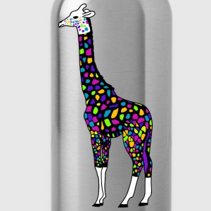 colorful giraffe T-Shirts - Water Bottle