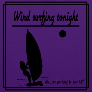 Wind surfing tonight - Tote Bag