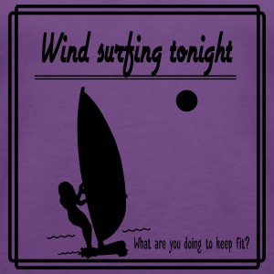 Wind surfing tonight - Women's Premium Tank Top