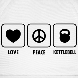 Love, Peace, Kettlebell Tee shirts - Casquette classique