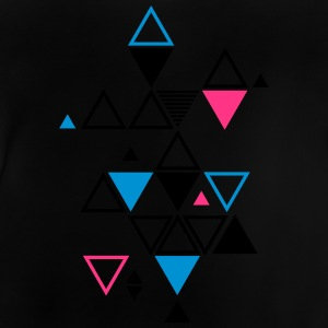 graphic pattern of triangles Hoodies - Baby T-Shirt
