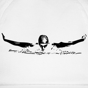 swimming T-Shirts - Baseball Cap