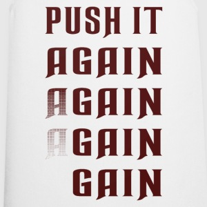 Push it again gain red Sports wear - Cooking Apron