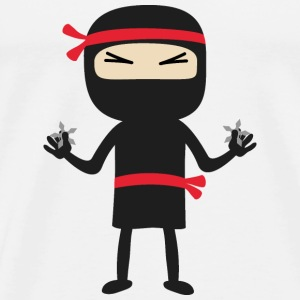 Ninja with weapon Other - Men's Premium T-Shirt