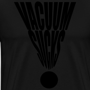 Vacuum Sucks  Aprons - Men's Premium T-Shirt