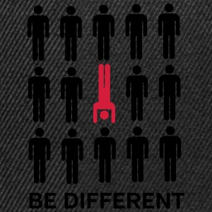 Be Different (Handstand) T-Shirts - Snapback Cap