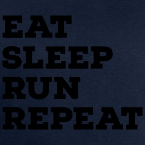 Eat, Sleep, Run, Repeat Magliette - Felpa da uomo di Stanley & Stella