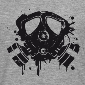 Gas mask graffiti T-Shirts - Men's Premium Longsleeve Shirt