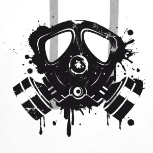 Gas mask graffiti Other - Men's Premium Hoodie