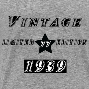 VINTAGE 1939 Hoodies & Sweatshirts - Men's Premium T-Shirt