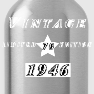 VINTAGE 1946 T-Shirts - Water Bottle